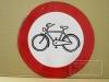 Verkehrsverbot für Radfahrer