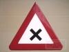 Warnzeichen Kreuzung