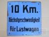 10 Km für Lastwagen