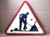 Warnzeichen, Baustelle