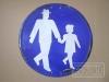 Gehweg für Fußgänger