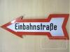 Gebotszeichen Einbahnstraße