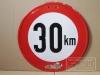 Höchstgeschwindigkeit 30 km/h