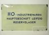 HO Industriewaren Leipzig