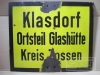 Klasdorf Glashütte Zossen