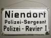 Polizei Sergeant Niendorf, Revier 1