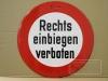 Verkehrsverbot einer Richtung