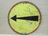 Gebotszeichen vorgeschriebene Fahrtrichtung